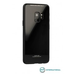 Coque Glass Samsung Galaxy S8- Noir