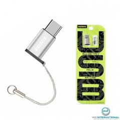 Adaptateur remax Micro USB vers Lightning Argent