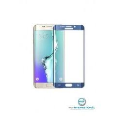 Verre trempé incurvé Samsung Galaxy S6 Edge Bleu