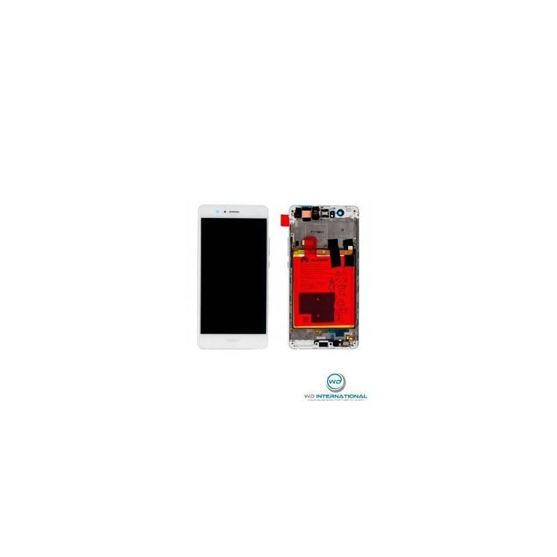 ecran huawei p9 lite blanc complet avec batterie origine constructeur. Black Bedroom Furniture Sets. Home Design Ideas