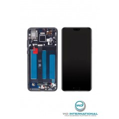 Huawei P20 Pantalla Negra (Reformada) Con Chasis