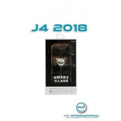 Verre trempé Smart Glass Samsung J4 2018 (3d Noir)