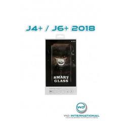 Verre trempé Smart Glass Samsung J4+ / J6+ 2018 (3d Noir)