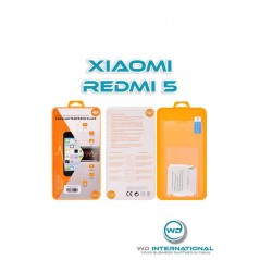 Verre trempé Xiaomi Redmi 5 en packaging