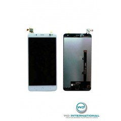 Ecran LCD BQ Aquaris V Plus Blanc (LCD + Vitre tactile)