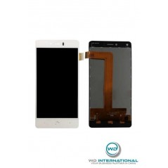 Ecran LCD BQ Aquaris U Blanc (LCD + Vitre tactile)