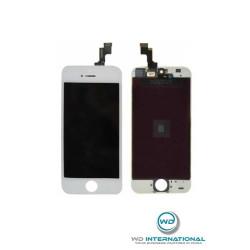 Ecran Complet iPhone 5S Blanc (Assemblé)