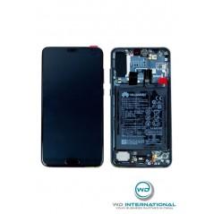 Ecran Oled Huawei P30 noir Complet Origine Constructeur