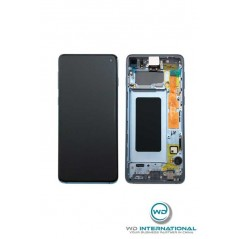 Display Samsung S10 / SM-973F - Blu (Service Pack)