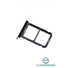 Tiroir double carte SIM Huawei P20 Argent