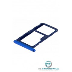 Bandeja de tarjeta doble SIM para Huawei P20 Lite azul