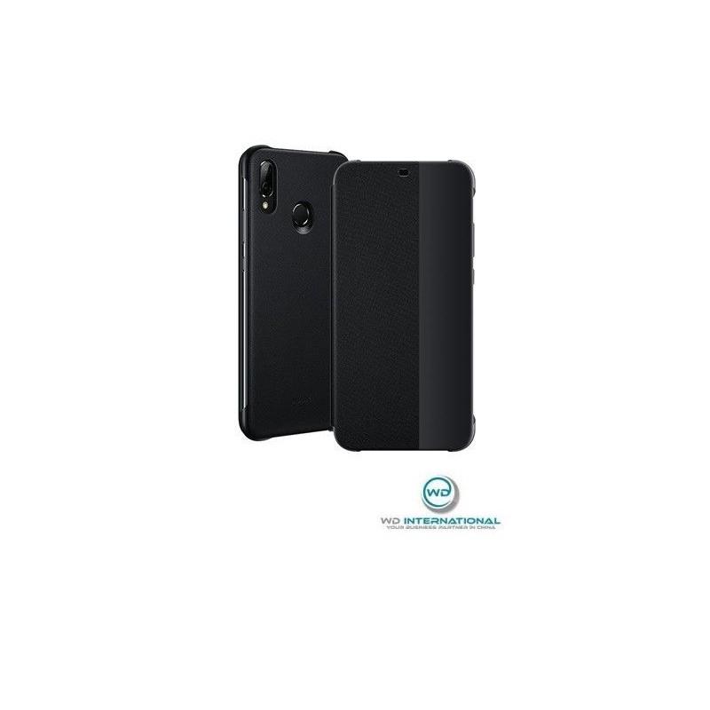 Etui Portefeuille Flip Huawei P20 Lite Noir