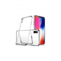 1 funda de silicona iPhone 6 + / + 6s Transparente