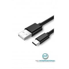 Câble usb type-C Noir 1 metre
