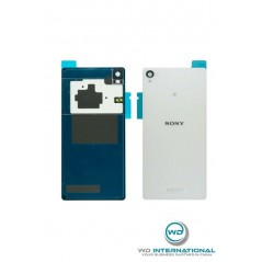 Ventana trasera Sony Z3 blanca origen del fabricante