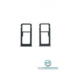 Tiroir Sim Huawei P Smart Noir