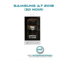 Verre trempé Smart Glass Samsung A7 2018 (3D Noir)