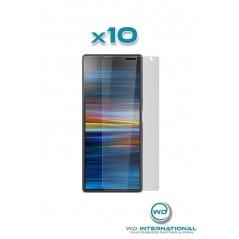 10 verres trempés Sony Xperia 10+