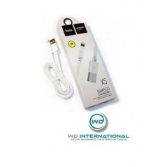 Câble Lightning Hoco Bamboo X5 Blanc