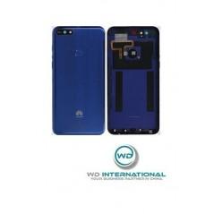 Ventana Trasera Huawei Y7 2018 Azul Origen Del Fabricante