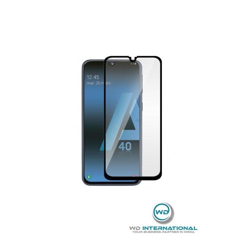 Verre trempé Smart Glass Samsung A40 (3D Noir)