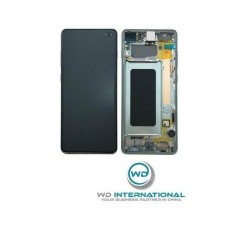 Pantalla LCD Samsung Galaxy S10 Plus Verde Service Pack