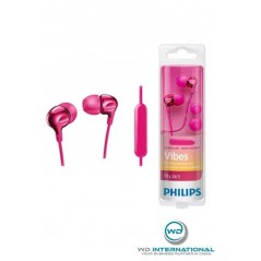 Ecouteurs Intra-auriculaires avec Micro Philips Vibes Blanc