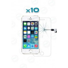 10 Verres Trempés iPhone 5/5C/5S