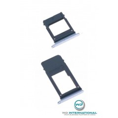 Tapa SIM+Tapa SD A5/A7 2017 Azul