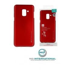 Carcasa I-Jelly Metal Case Samsung A20 / A30 Rojo