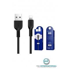 Câble Lightning Hoco Time Speed X14 Noir
