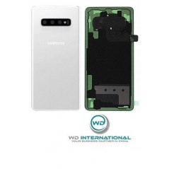 Back Cover Samsung Galaxy S10+ Blanc Céramique Service Pack