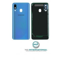 Back Cover Samsung Galaxy A40 Bleu Service Pack