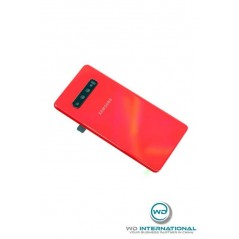 Back cover Samsung S10+ Cardinal rouge Service pack