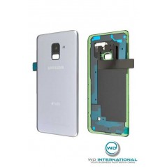 Back Cover Samsung A8 2018 Duos couleur Gris Service Pack