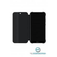 Coque Smart View Flip Cover Huawei P20 Lite Noir