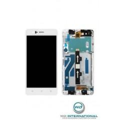 Pantalla BQ Aquaris M5 Blanco Con marco