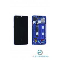 Écran LCD Xiaomi Mi 9 Bleu Avec Châssis (Reconditionné)