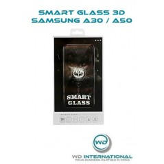 Verre trempé Smart Glass 3D Noir Samsung A30 / A50