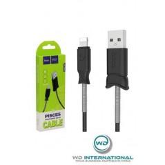 Cable Hoco X24 Pisces 1.2m Lightning Noir