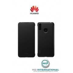 Étui Officiel Wallet Cover Huawei Y7 2019 Noir