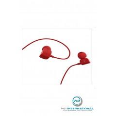 Écouteurs Remax RW-512 Music couleur Rouge