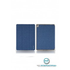 Étui Remax Leather Case iPad Mini 4 / 5 Avec Porte-Crayon Bleu