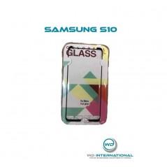 Samsung S10 ColorFullGlass Vidrio templado curvado