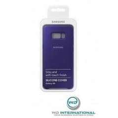 Funda de silicona oficial Samsung S8 + Violeta
