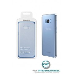 Etui ClearCover Samsung S8 + Bleu