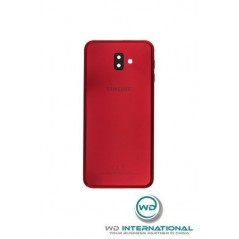 Back Cover Samsung J6 Plus Rouge Service Pack