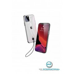 Coque BASEUS avec sangle pour Apple iPhone 11 6,1 pouces (2019) - transparent