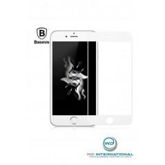 Verres trempés 3D Baseus iPhone 6/7/8 Blanc