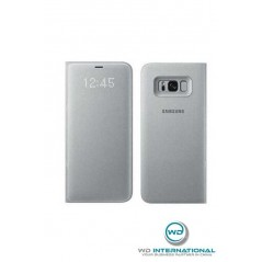 Coque LED View Cover Samsung Note 8 Argent